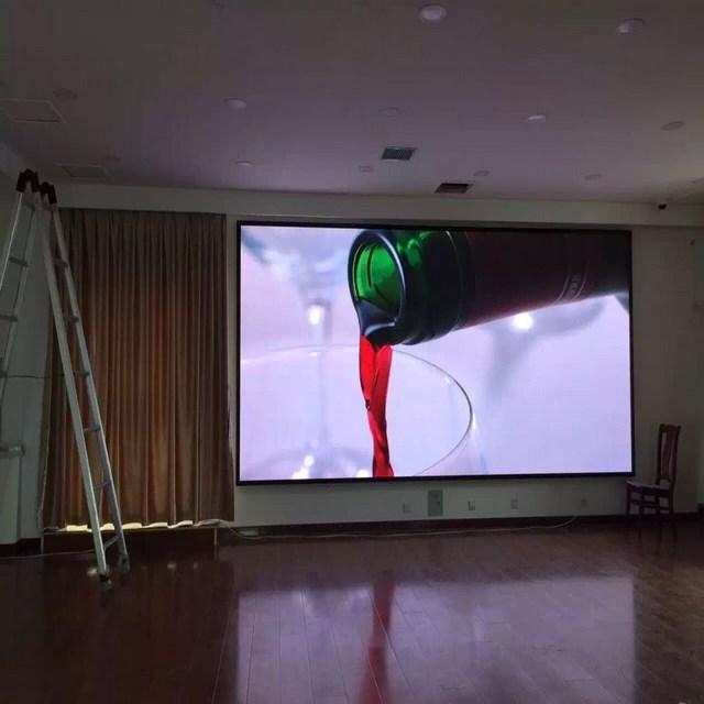 济南室内会议室全彩LED电子屏幕显示控制电路知识