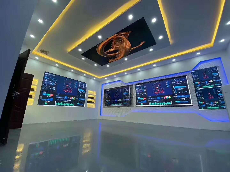 城市智慧展厅室内全彩led电子显示屏案例